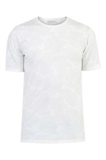Белая футболка с ажурным принтом Etro