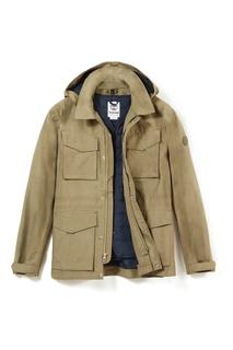 Бежевая куртка с капюшоном Timberland