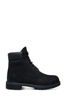 Высокие черные ботинки Timberland