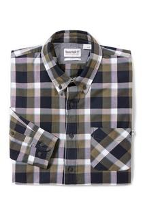 Рубашка в клетку с длинными рукавами Timberland