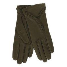 Перчатки AGNELLE RIC_NADEGE/S темно-зеленый