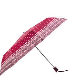 Полуавтоматический зонт цвета фуксии с системой «антиветер» Doppler