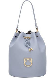 Маленькая кожаная сумка с одним отделом Corona Furla