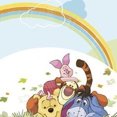 Фотообои Disney Winnie Pooh (1,27х1,84 м)