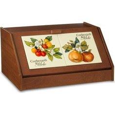 Хлебница Nuova Cer Итальянские фрукты (NC6837-CEM-AL)