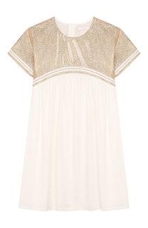Платье из вискозы Chloé
