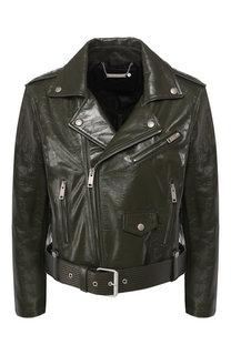 Кожаная куртка Givenchy