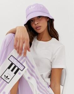 Сиреневая панама adidas Originals - Фиолетовый
