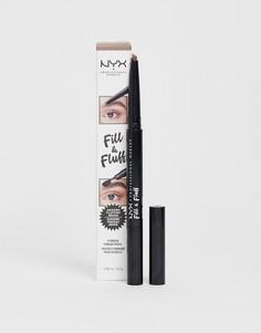 Карандаш для бровей NYX Professional Makeup - Черный