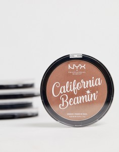 Бронзатор для лица и тела NYX Professional Makeup California Beamin - Free Spirit - Коричневый