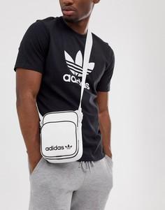 Белая сумка для полетов adidas Originals - Белый
