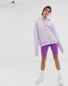 Неоново-фиолетовые шорты-леггинсы Weekday - Фиолетовый
