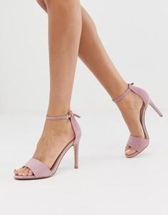 Кожаные туфли-лодочки с острым носком на каблуке Aldo - Розовый