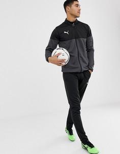 Черный спортивный костюм Puma Football - Черный