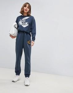 Спортивные брюки с логотипом Vivienne Westwood Anglomania - Серый
