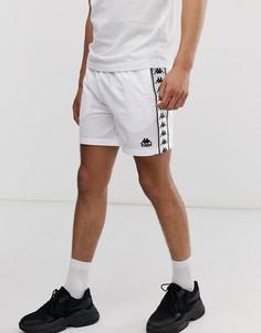 a99b49cab5bc Белые шорты с фирменной лентой Kappa - Authentic Cole - Белый
