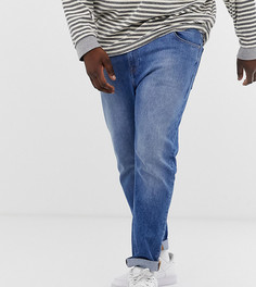 Синие джинсы скинни в винтажном стиле ASOS DESIGN Plus - Синий