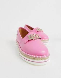 Эспадрильи Love Moschino - Розовый