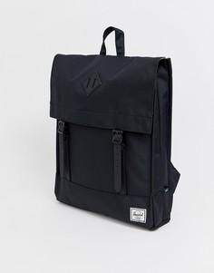 Черный рюкзак Herschel Supply Co Survey - Черный