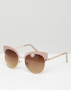 Розовые солнцезащитные очки кошачий глаз Aldo - Розовый