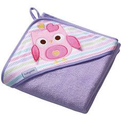 Полотенце BabyOno Soft 100х100 см, фиолетовое