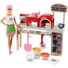 Игровой набор Barbie Шеф-повар пиццерии Mattel