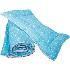 Одеяло детское 110х140, подушка детская 40х60 (бязь) Эдельвейс
