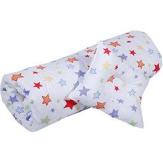 """Одеяло детскоеРазмер 110х120, подушка фигурная """"Эдельвейс"""" (бязь)"""