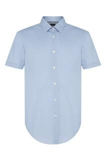 Рубашка с короткими рукавами Hugo Boss