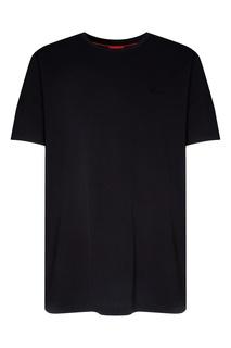 Черная футболка Hugo Boss