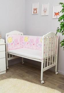 Бортик для детской кровати Сонный Гномик