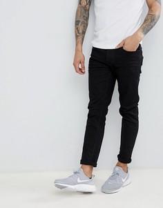 Черные джинсы скинни Threadbare - Черный