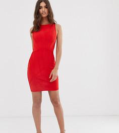 Красное бандажное платье мини Lipsy - Красный