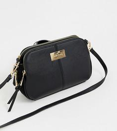 Черная сумка с тремя отделениями River Island - Черный
