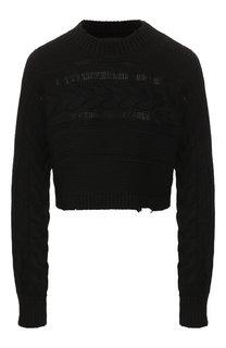 Хлопковый пуловер RTA