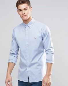 d0d61e80879 Синяя оксфордская рубашка классического кроя Polo Ralph Lauren - Синий