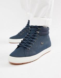 Темно-синие ботинки чукка Lacoste Straightset C 318 1 - Темно-синий