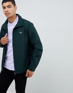 Зеленая куртка на молнии Lacoste - Зеленый