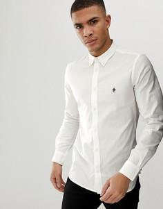 Оксфордская рубашка с длинными рукавами French Connection - Белый