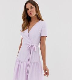Платье с отделкой French Connection Armoise - Фиолетовый