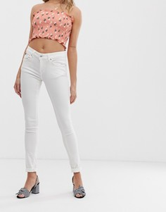 Белые джинсы скинни Superdry Cassie - Белый