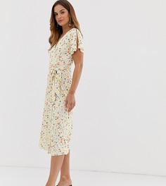 Платье миди French Connection - Белый