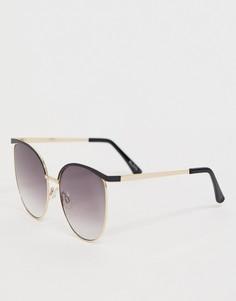 Черные солнцезащитные очки-авиаторы ALDO - Черный