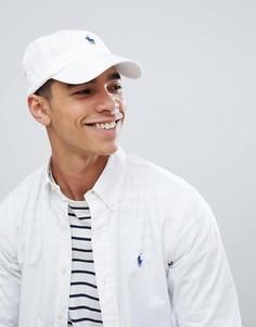 Бейсболка с логотипом Polo Ralph Lauren - Белый
