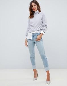 Прямые джинсы с отворотами J Brand Sadey - Синий