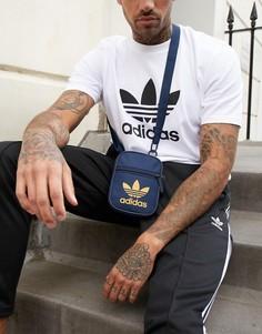Темно-синяя сумка adidas Originals - Темно-синий
