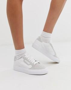 Белые кроссовки adidas Originals Continental 80 - Белый