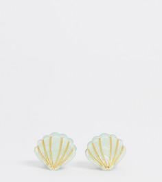 Заколка для волос DesignB London - Зеленый