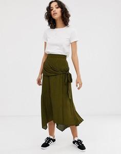 26bf4bea88c Купить женские юбки миди в клетку в интернет-магазине Lookbuck ...