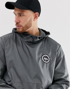Куртка-пуловер с логотипом Hype - Серый